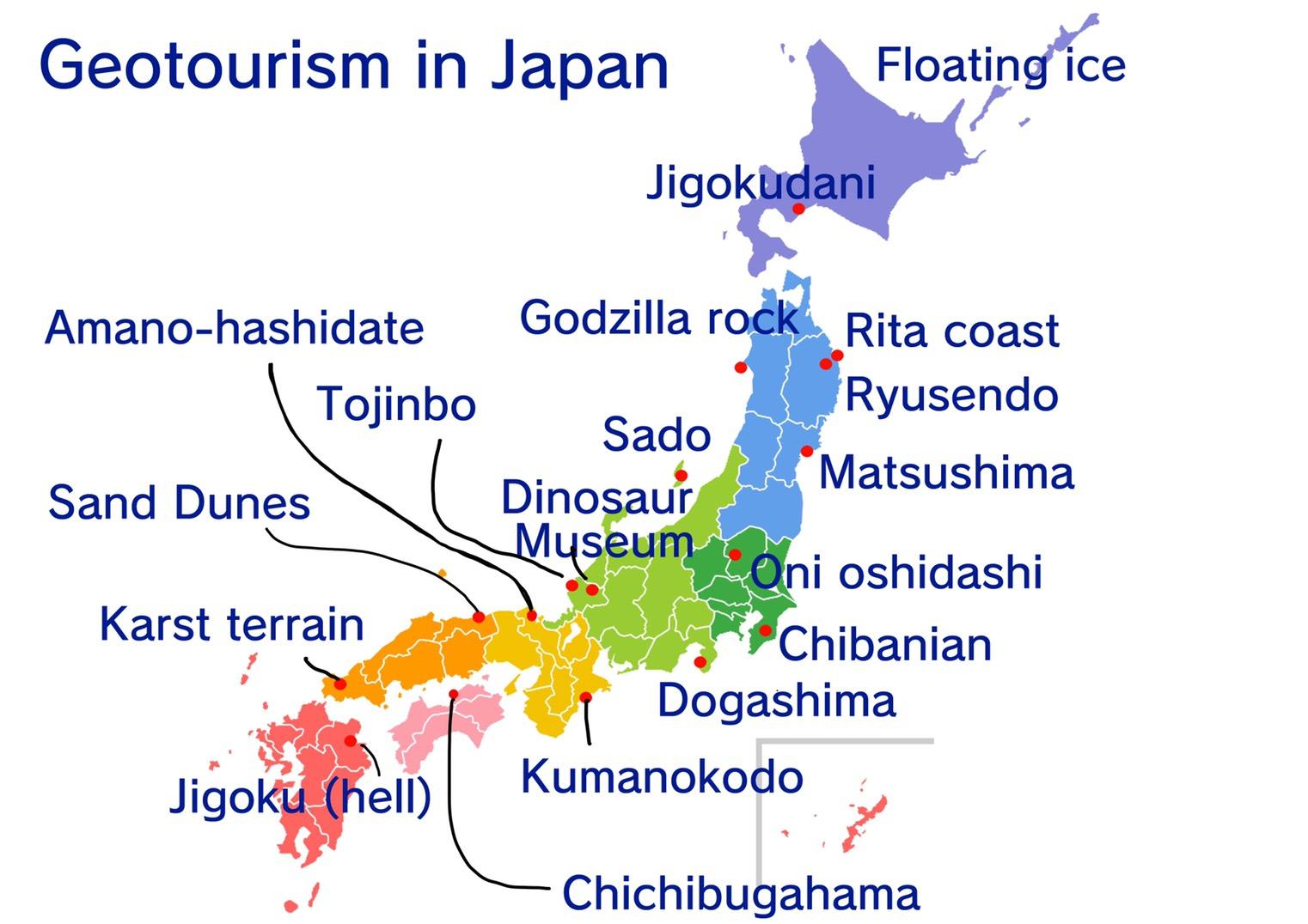 Japan geotourism