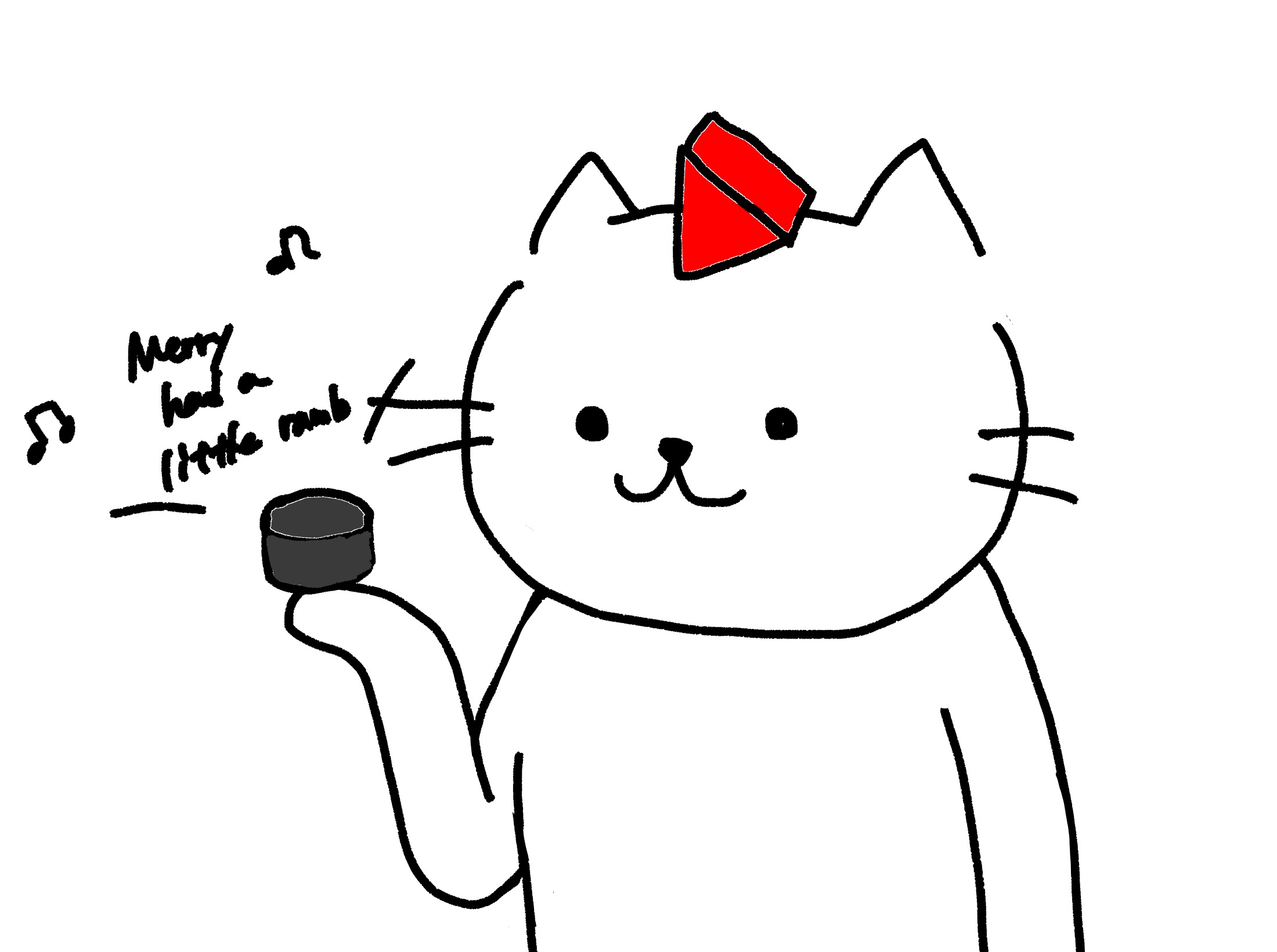 アレクサ猫