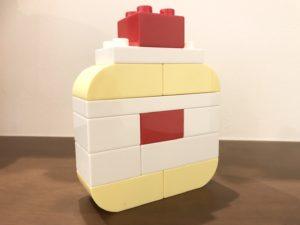 レゴデュプロでケーキ