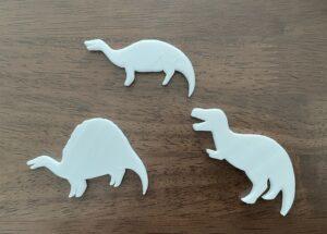 3Dプリンター恐竜