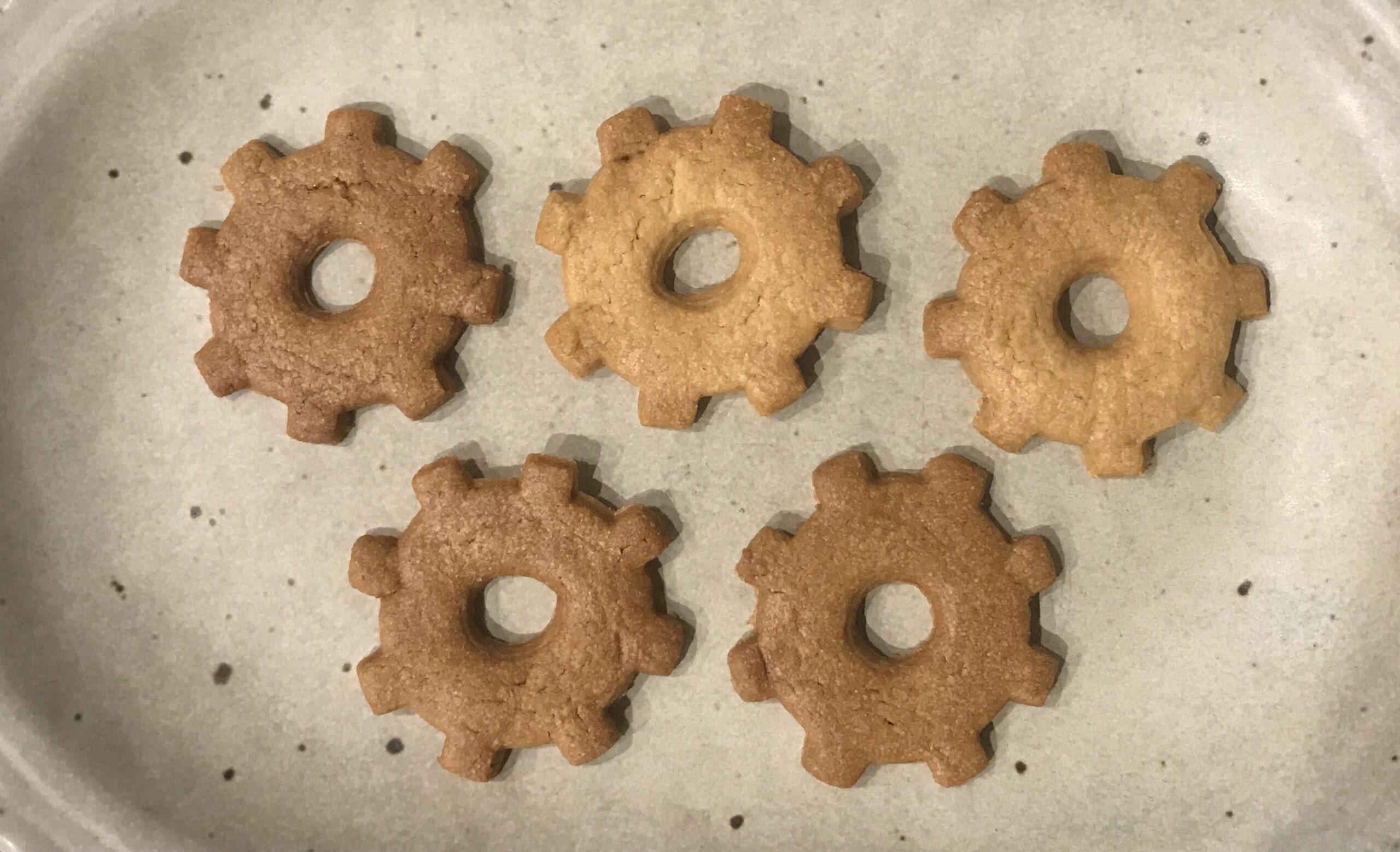 歯車クッキー