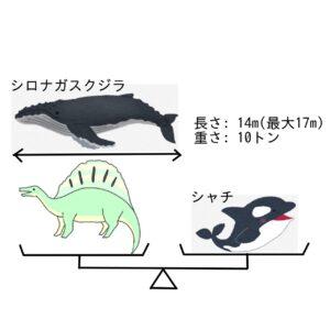 恐竜大きさ比べ